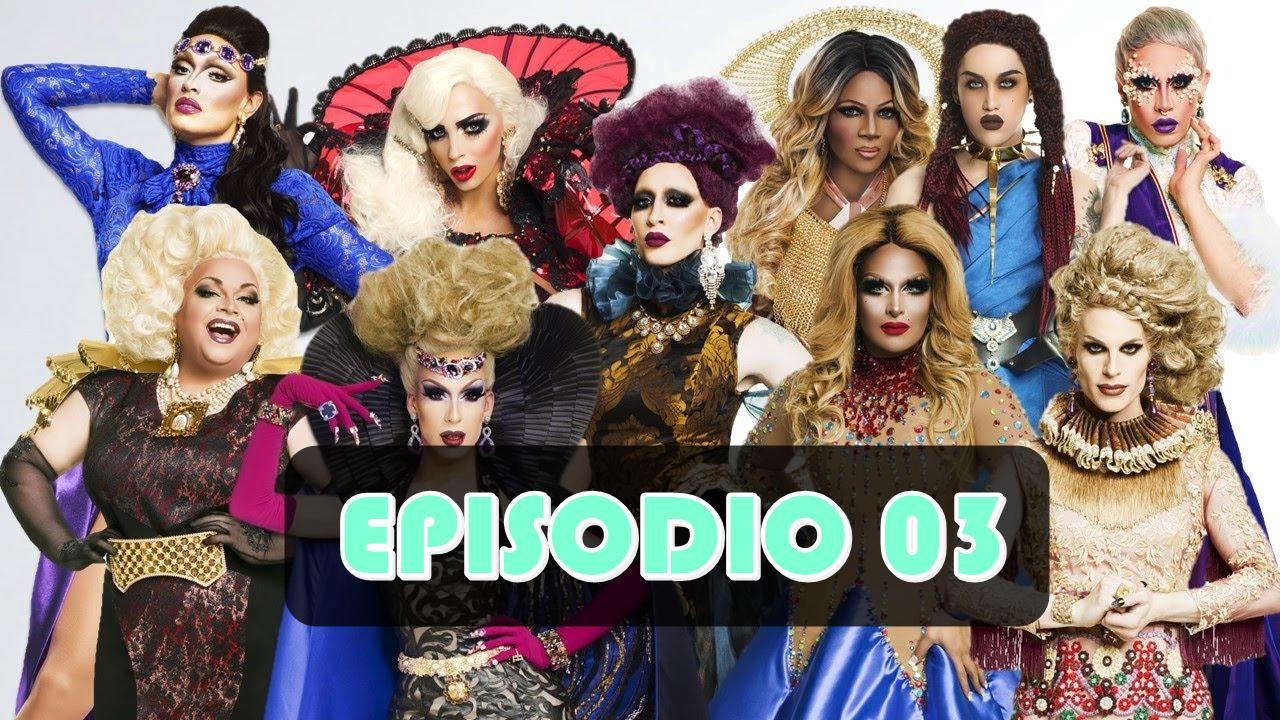 Rupaul´s Drag Race All Stars 2 episodio 3