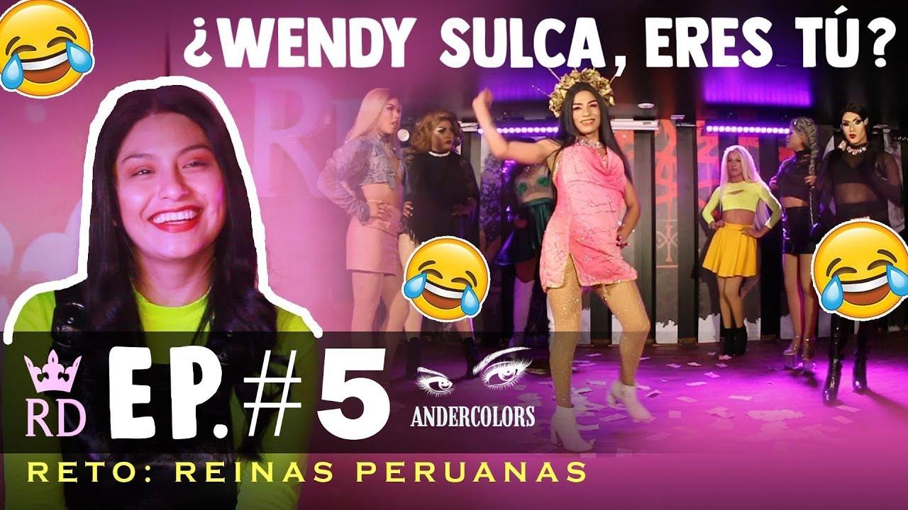 REINA DRAG EP 5: REINAS PERUANAS