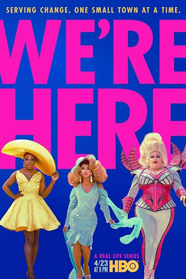 WE´RE HERE