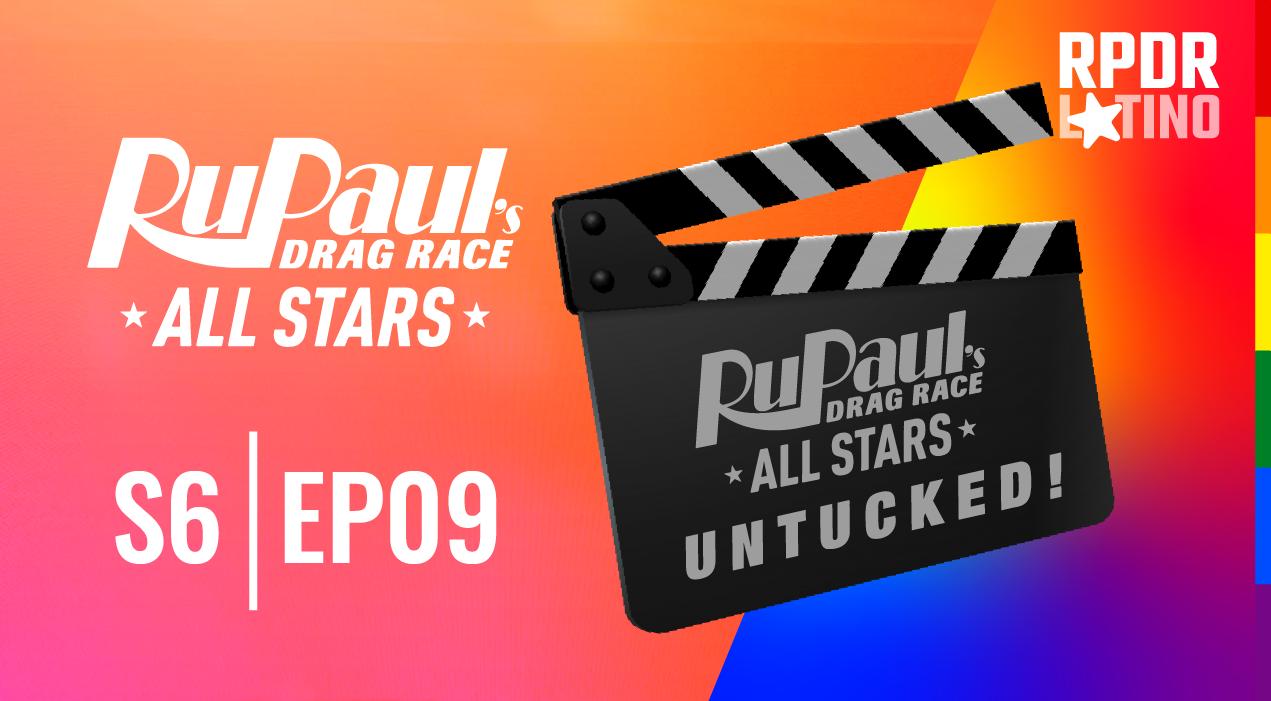 RuPaul's Drag Race All Stars: Untucked!: 6×9